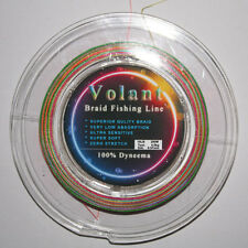 12LB MULTI COLOR SUPERIOR QUALITY BRAID FISHING LINE 100% DYNEEMA 200M