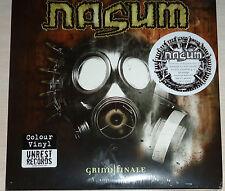 Nasum - Grind Finale Ltd. Edition 4X LP Color Vinyl / Sealed (2012)