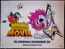 MOSHI MONSTERS THE MOVIE 2013 CINEMA QUAD POSTER  ZOMMER LOVLI SWEET TOOTH