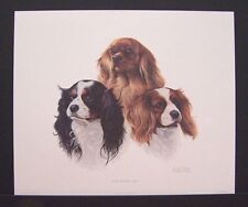 "Charles Frace Signed Limited Edition Print ""Cavalier Kings Charles Spaniel"""