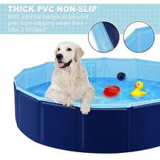 Portable Pet Bathtub Dog Swimming Pool Foldable Bath Paddling Pool Puppy Bathtub