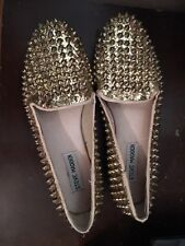 Steve Madden gold spiked Shoes