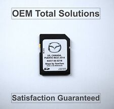 OEM 2014 Genuine Mazda / TomTom Map Navigation SD Card 2013 - 2015 KD37 66 EZ1B