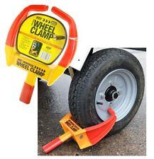 Maypole Universal Security Wheel Clamp Claw / Immobiliser Bike Caravan Car Van