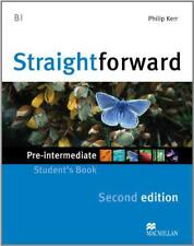 Straightforward Pre-intermediate Level: Student's Book by Phillip Kerr, NEW Book