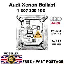 Lastre Ocultado Xenon Headlight AUDI 1307329193 Audi TT Mk2 2007-2013 R8 2007-2012