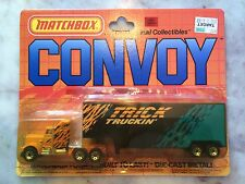 Matchbox Convoy CY36 Trick Truckin' Nice! 100% Great Condition!
