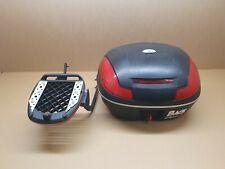Honda VFR750 VFR750F RC36 Givi Top box & luggge rack with key ,Fits 1990 - 1993