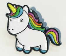 Unicorn Enamel Pin Lapel for Birthday Gifts Presents Decoration Cute Colourful