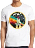 NASA T Shirt Distressed Logo Space Agency Vintage Tee 23
