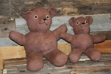 lot vintage antique teddy bear plush