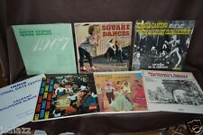 Country Music Compilation SQUARE DANCING LP 33rpm Record Albums w/w/out Calls