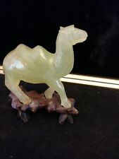 Antique/Vintage Carved Jade Camel