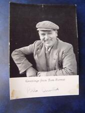 Bob Arnold - Tom Forrest in the Archers - A/F   - Autograph  4 x 5.5 inch
