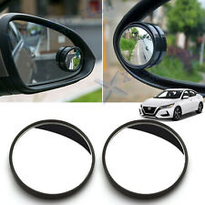 2pcs Round Rearview Blind Spot Convex Wide Angle Mirrors 360° HD View For Nissan
