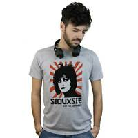 camiseta Siouxsie Y La Banshees, Camiseta gris Post Punk Nuevo Wave Rock UK