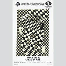 Victor VASARELY: Chess in natura. Goldman's Art Gallery, Haifa 1976.