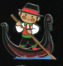 it's a small world Mystery Italian Gondolier Disney Pin 84161