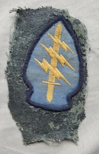 US Army Special Forces SF Patch Insignia Forign Made?
