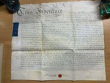 6 FEB 1801 1-PAGE LEASE VELLUM INDENTURE - DAVIS (WORCESTER/LONDON) (LL)