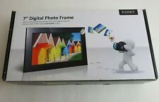 "Elonex LNX/DP9000 LED Digital Photo Frame 7"" Inch Brand New Boxed SD/MMC/MS/USB"
