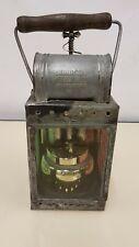 Vintage WW2 Deutsche Reichsbahn German acetylene carbide railway lamp