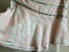 $650 Munthe+Simonsen Metal Applique Women's A-line Flared Mini Skirt St Barth's