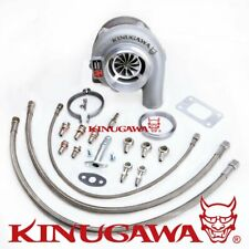 "Kinugawa Ball Bearing Turbo 4"" GTX3076R w/ .61 T3 For NISSAN RB20/RB25 Top Mount"