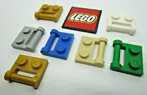 LEGO PLATE 1x2 with Handle Closed Ends (Packs of 4) - Design 48336