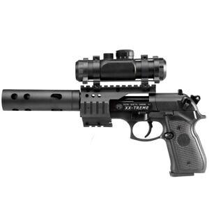 Beretta M92 FS XX-TREME Vollmetall CO2 Pistole 4,5mm Diabolo inkl. Montage, Leuc