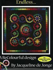 Endless Pieced Quilt Pattern Be Colourful Jacqueline de Jonge DIY