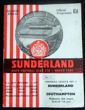 Sunderland v  Southampton  24-8-1966