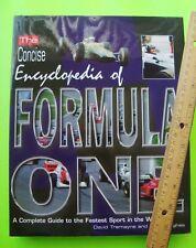 1998 Encyclopedia Of Formula One Racing Grand Prix Races H-C w/ Dj 256-pgs Xlnt+