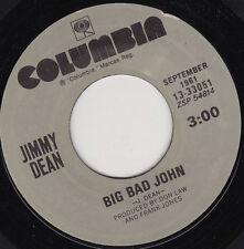 "JIMMY DEAN - Big Bad John 7"" 45*"