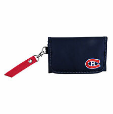 NEW MONTREAL CANADIENS FASHION ORGANIZER WALLET w/RIBBON HOLDS PHONE
