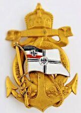 "Distintivo ORO ""Marine Verein Lahr"" Impero ww1 wk1 BADGE Medal German"