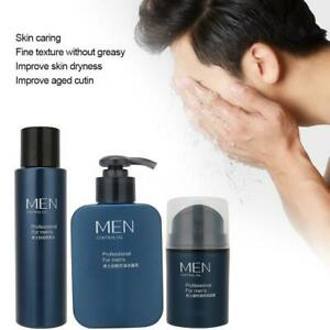 Men Facial Lotion Cream Kit Oil Control Men Facial Cream Firming Moisturizing Sk