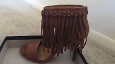 Polo Ralph Lauren Made in Spain woman shoes 38,5(8.5) shari fringed suede