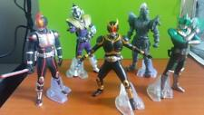 "4"" INCH MASKED RIDER KUUGA SET OF 5 (1) KAMEN RIDER ACTION FIGURE PVC"