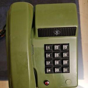 Altes Tastentelefon TuN, grün , Post, TN, Telefon
