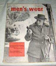 "1953 ""Men's Wear"" Trade Magazine,Fairchild,Clothi ng,Apparel,Fashions,Hats,S hoes"