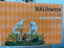 Department 56 Halloween Scary Skeleton Stories #4030763 New 2020 (Free Shipping)