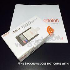 Ortofon DS-1 Cartridge Digital Scale Precision Stylus Pressure Gauge Original