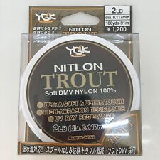NITRON-TROUT Soft Nylon Fishing Line 5lb / 100yds  855558