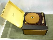 VINTAGE MITCHELL RECORD PLAYER 572 ROCK N ROLL PORTABLE 78 45 331/3 16 RPM