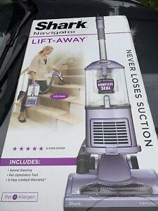 Shark NV351 Navigator Lift-Away Upright Vacuum Cleaner - Purple - NEW