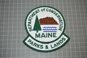Maine Department Of Conservation Parks & Lands Patch (B17-Y)