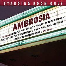 AMBROSIA : STANDING ROOM ONLY (CD) sealed