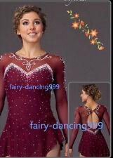 2018 New Ice Figure skating dress Baton Twirling  dress competition custom p191