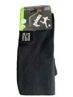 Kipsta European Soccer Socks Unisex Black Size Men 9 & Women 10.5